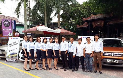 Lái thử ô tô Suzuki tại thành phố Đông Hà, Tỉnh Quảng Trị