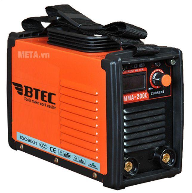 Máy hàn điện tử Inverter Btec MMA-200C